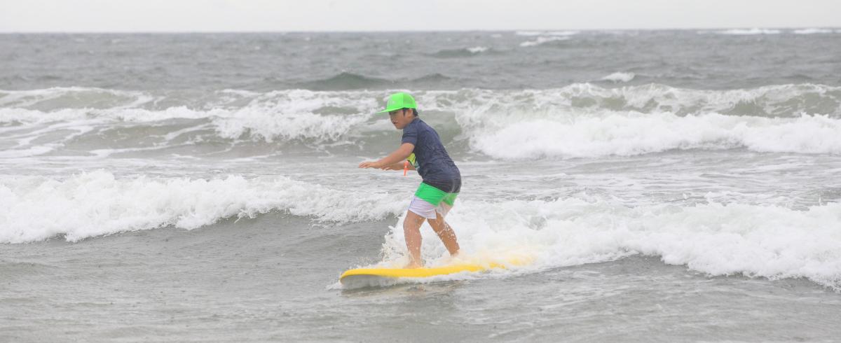「キッズ・サーフィン・チャレンジ」報告